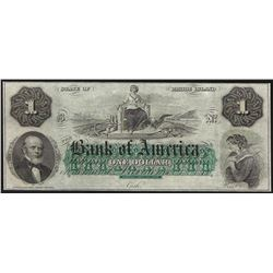 1800's $1 Providence Rhode Island Bank Obsolete Note