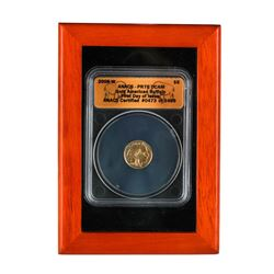 2008-W $5 American Gold Buffalo Proof Coin ANACS PR70DCAM
