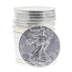 Roll of (20) 2015 $1 American Silver Eagle Brilliant Uncirculated Coins