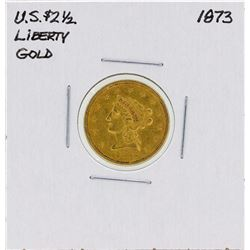 1873 $2 1/2 Liberty Head Quarter Eagle Gold Coin