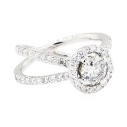 18KT White Gold 1.60ctw Diamond Ring