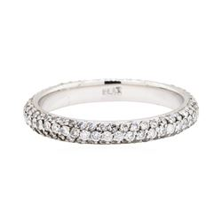 Platinum 1.00ctw Diamond Eternity Band