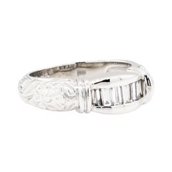 Platinum 0.50ctw Diamond Wedding Ring