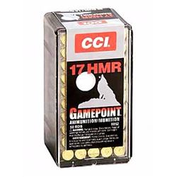 CCI 17HMR 20GR GAME PNT - 500 Rounds