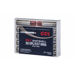 CCI 38/357 #4 SHOTSHELL- 100 Rounds