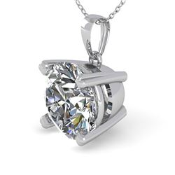 1.50 CTW VS/SI Diamond Designer Necklace 18K White Gold - REF-523N2A - 32358