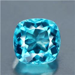 Natural Cushion Brazil Blue Apatite 1.16 Carats - VVS