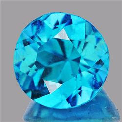 Natural  Brazil Blue Apatite 1.15 Ct {Flawless-VVS1}