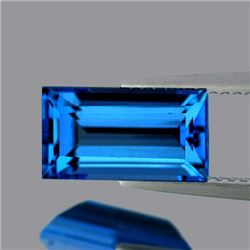 Natural Swiss Blue Topaz 5.73 Cts - FL