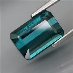 Natural Top Blue Tourmaline 4.47 Cts - Untreated