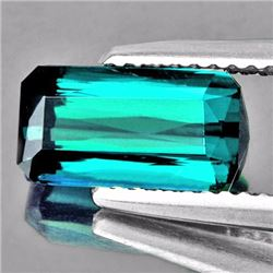 Natural Teal Green Tourmaline 3.23 Cts - VVS