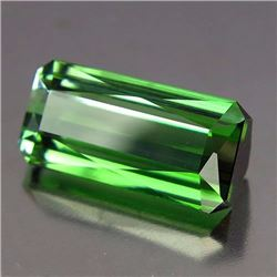 Natural Neon Green Tourmaline 5.60 ct - VVS