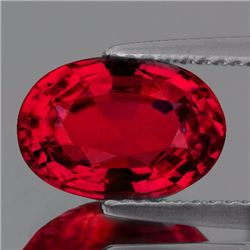 Natural Burma Pigeon Blood Red Spinel 0.84 Cts