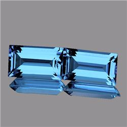 Natutal Best AAA Sky Blue Topaz 12x6 MM - FL