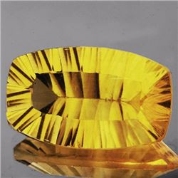 Natural Golden Yellow Fluorite 30.58 Ct