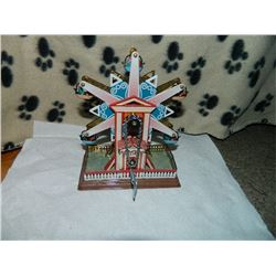 METAL WIND-UP TOY - FERRIS WHEEL