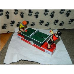 METAL WIND-UP TOY - PING PONG