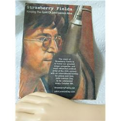 DVD - STRAWBERRY FIELD - JOHN LENNON - condition - new unopened