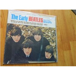 VINYL RECORD - BEATLES - THE EARLY BEATLES - ST-2309 - CAPITOL RECORDS CANADA - JACKET TAPED - condi