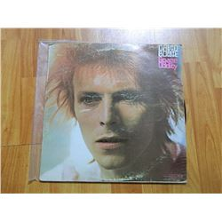 VINYL RECORD - DAVID BOWIE - SPACE ODDITY - PBRS 4502- condition - fair