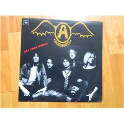 VINYL RECORD - AEROSMITH - GET YOUR WINGS - AL 32847 - condition - NEAR MINT