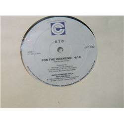 "VINYL RECORD - B.T.O - "" RADIO SAMPLER ONLY"" - FOR THE WEEKEND SIDE 1 - JUST LOOK AT ME NOW SIDE 2 -"