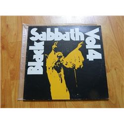 VINYL RECORD - BLACK SABATH - VOL 4 - BS 2602 - condition - fair