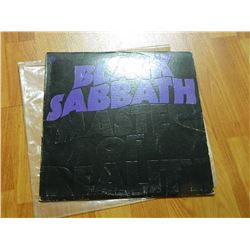 VINYL RECORD - BLACK SABATH - MASTER OF REALITY - BS 2562- condition - fair