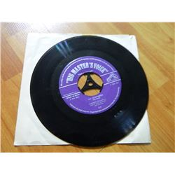 "VINYL RECORD - 45 - ""HIS MASTER'S VOICE"" - MALAGUENA / LA COMPARSA - 7QH 101 - THE GRAMAPHONE CO. -"