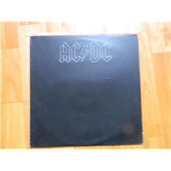 VINYL RECORD - AC/DC - BACK IN THE BLACK - SD 16018 - condition - really good
