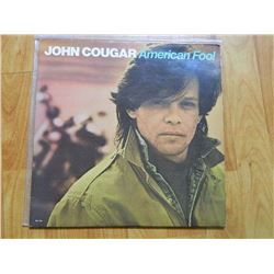 VINYL RECORD - JOHN COUGAR MELLENCAMP - AMERICAN FORD - RVL 7501- condition - fair