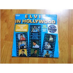 VINYL RECORD - ELVIS - IN HOLLYWOOD - KSL 1 7053 - condition - sleeve poor - record good