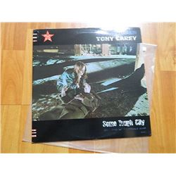 """VINYL RECORD - TONY CAREY - SOME TOUGH GUY - MCA-5464 - MCA RECORDS- """"FOR PROMOTION ONLY ...  SALE I"""