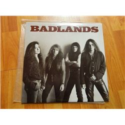 VINYL RECORD - BAD LANDS - 78 19661 - condition - really good