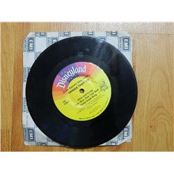 "VINYL RECORD - 7"" - 33 ½  - DISNEY DISCOVERY SERIES PRESENTS: THINGS THAT GO - 392 - condition fair"