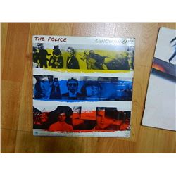RECORD COVER ONLY - THE POLICE - SYNCHROMICITY - condition fair