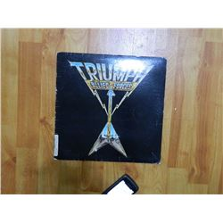 RECORD COVER ONLY - TRIUMPH - ALLIED FORCES - condition fair