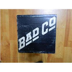 RECORD COVER ONLY - BAD Co - condition poor