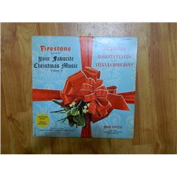VINYL RECORD - FIRESTONE - YOUR FAVORITE CHRISTMAS MUSIC - SLP-7014 - condition good