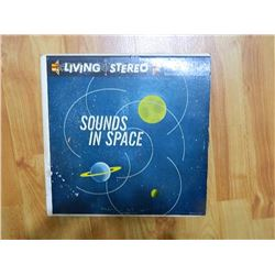 VINYL RECORD - LIVING STEREO - SOUNDS OF SPACE - SP-33-13 - condition poor