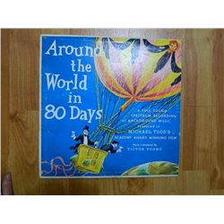 VINYL RECORD - AROUND THE WORLD IN 80 DAYS - S 28 - condition poor