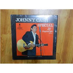 VINYL RECORD - JOHNNY CASH - SPECIAL 20 ORIGINAL HITS VOL. 1 - NC 401 - condition good