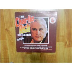 VINYL RECORD - THE CHARLIE RICH COLLECTION - CSPS 1082 - condition poor