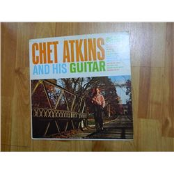 VINYL RECORD - CHET ATKINS AND HIS GUITAR - CAL 659 - condition fair