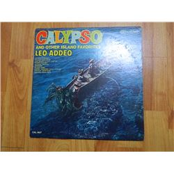 VINYL RECORD - CALYPSO - LEO ADDEO - CAL 807 - condition fair