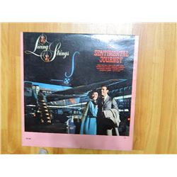 VINYL RECORD - LIVING STRINGS - ON A SENTIMENTAL JOURNEY - CAL 803 - condition fair