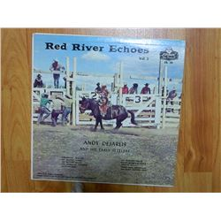 VINYL RECORD - RED RIVER ECHOES VOL 2 - ANDY DEGARIS AND HIS EARLY SETTLERS - EB 28 - condition good
