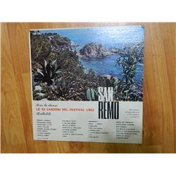 VINYL RECORD - GALA - SAN REMO - CGP 130 - condition fair