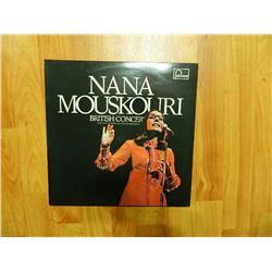 VINYL RECORD - NANA MOUSKOURI - BRITISH CONCERT - 6499 149 - condition really good