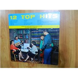 VINYL RECORD - 12 TOP HITS - MTH 26 - condition poor